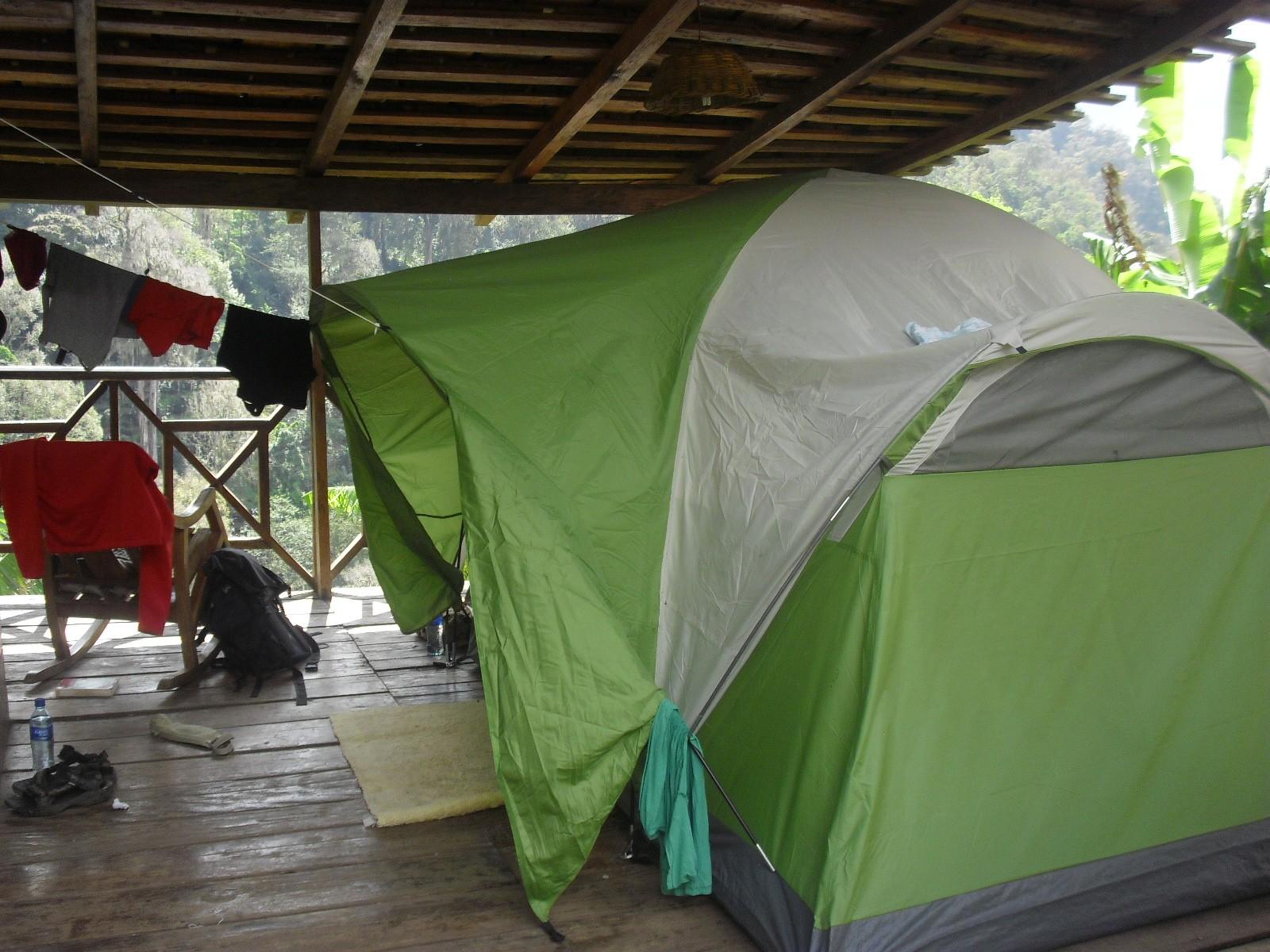 staying at La Bastilla Ecolodge