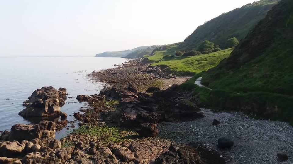 gobbins cliff path causeway coastal route