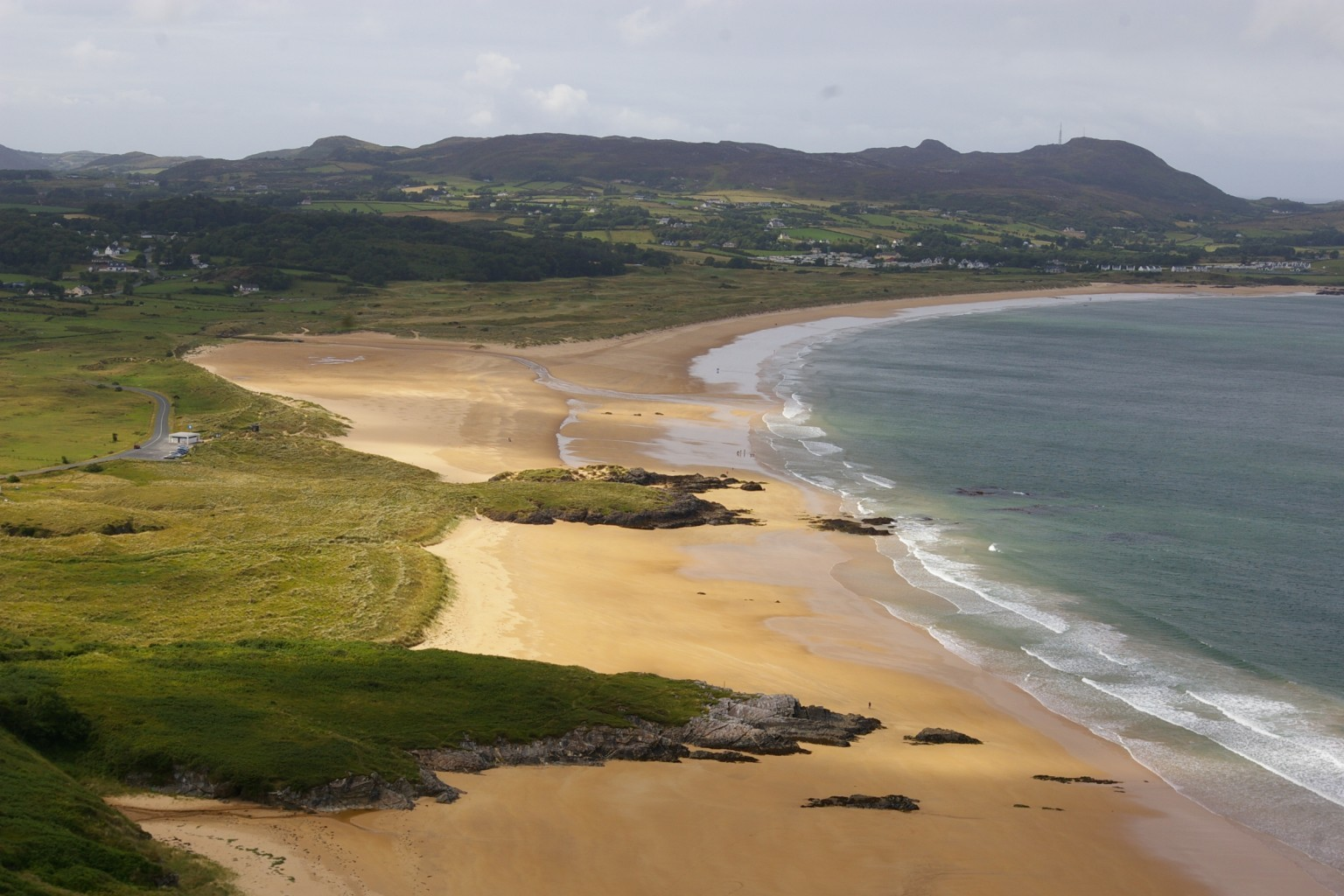 best places to visit in Donegal Portsalon Beach