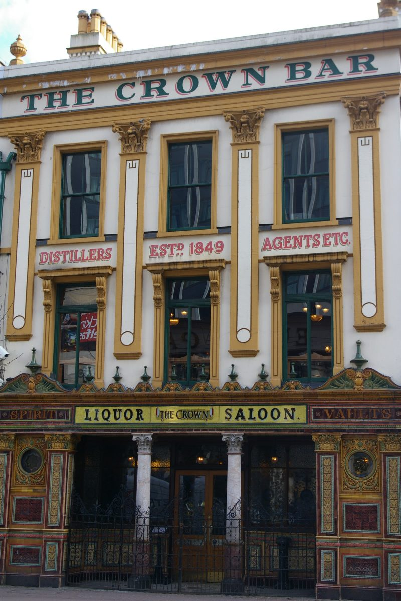 traditional pubs of Belfast