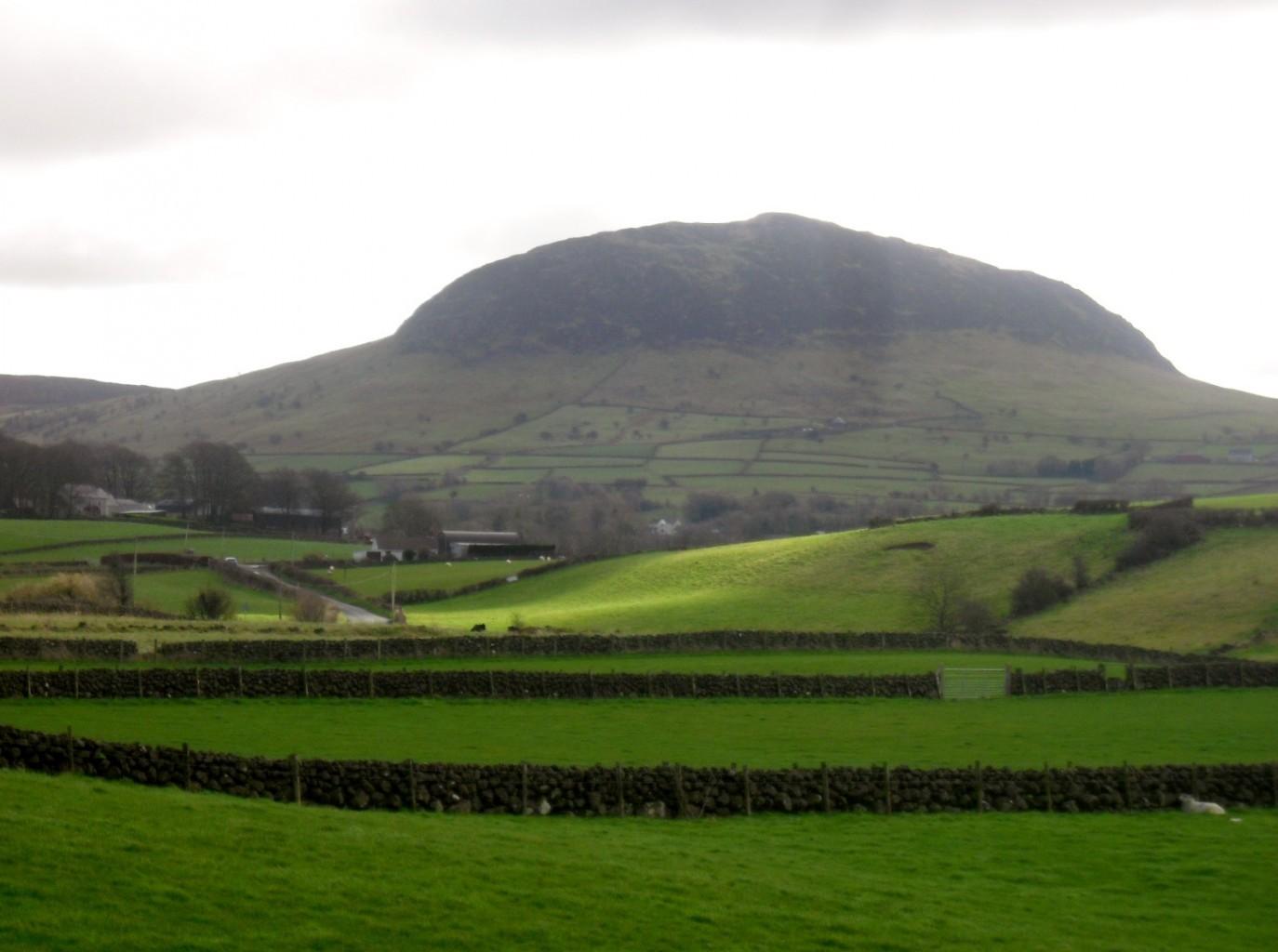 Saint Patrick's tour of Ireland Slemish