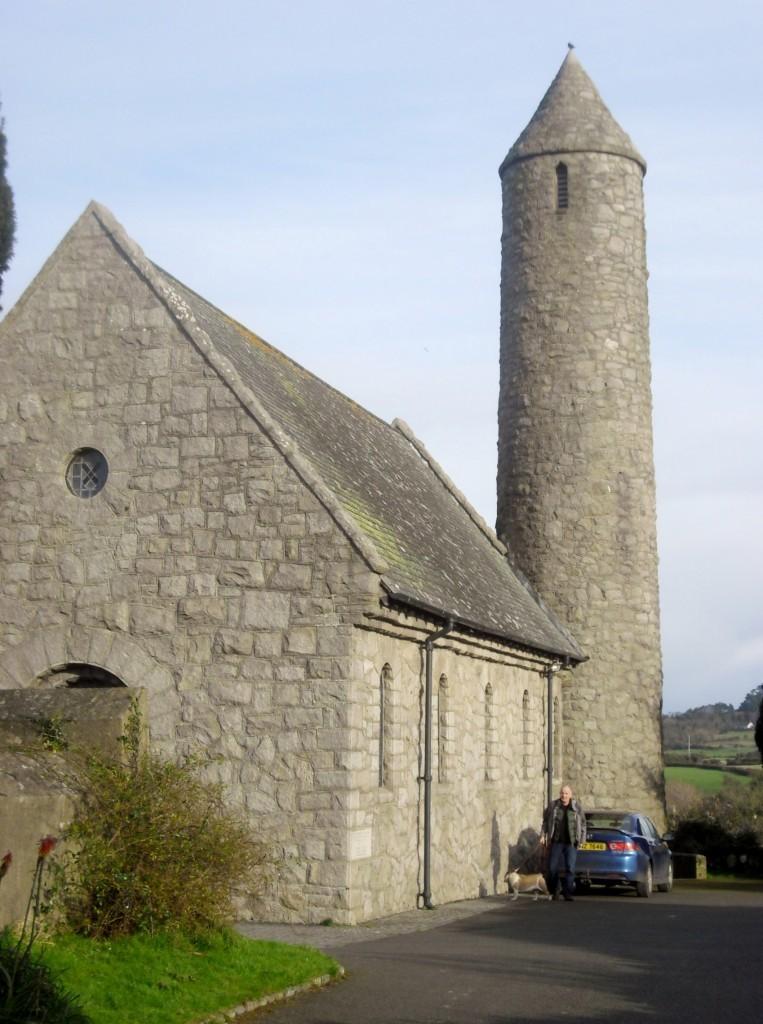 Saint Patrick's tour of Ireland Saul
