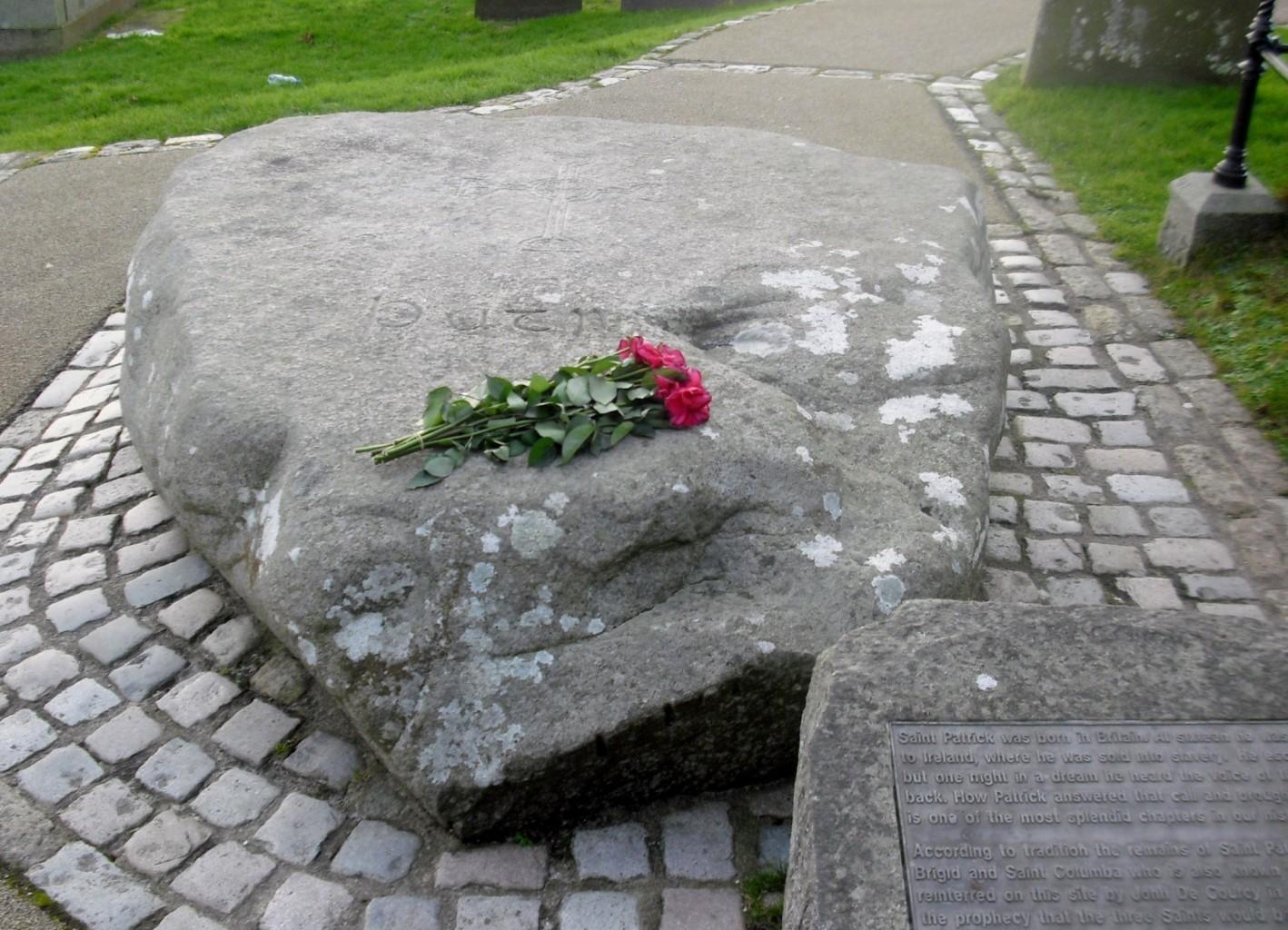 gravestone Saint Patrick