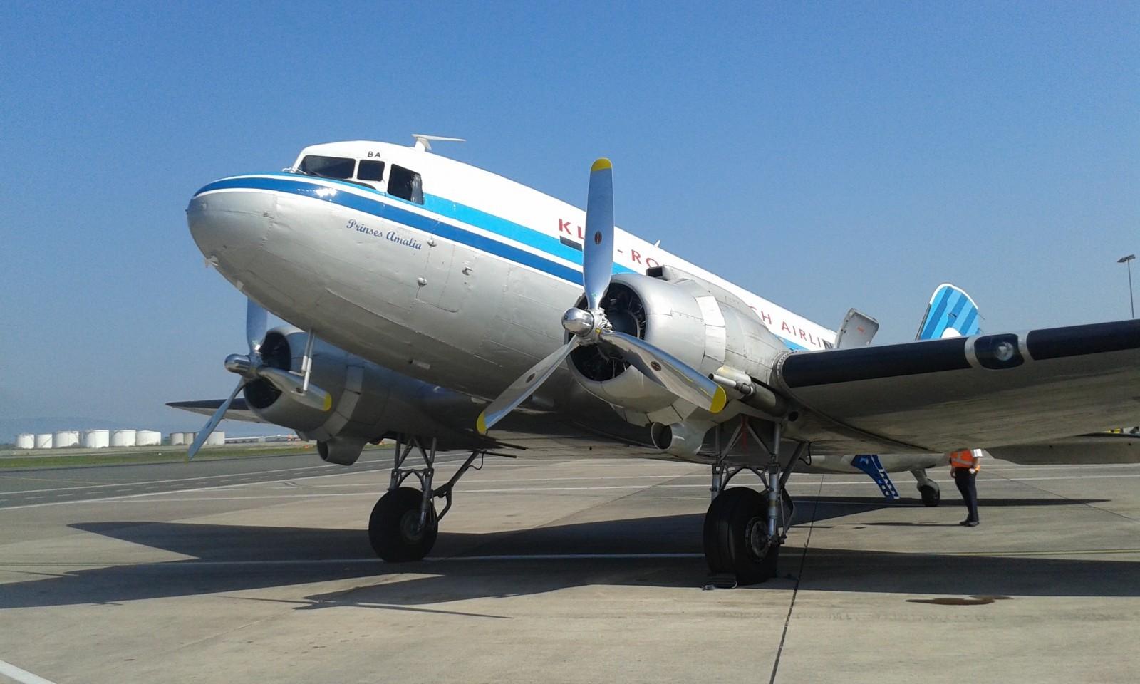 Dakota DC3 with KLM