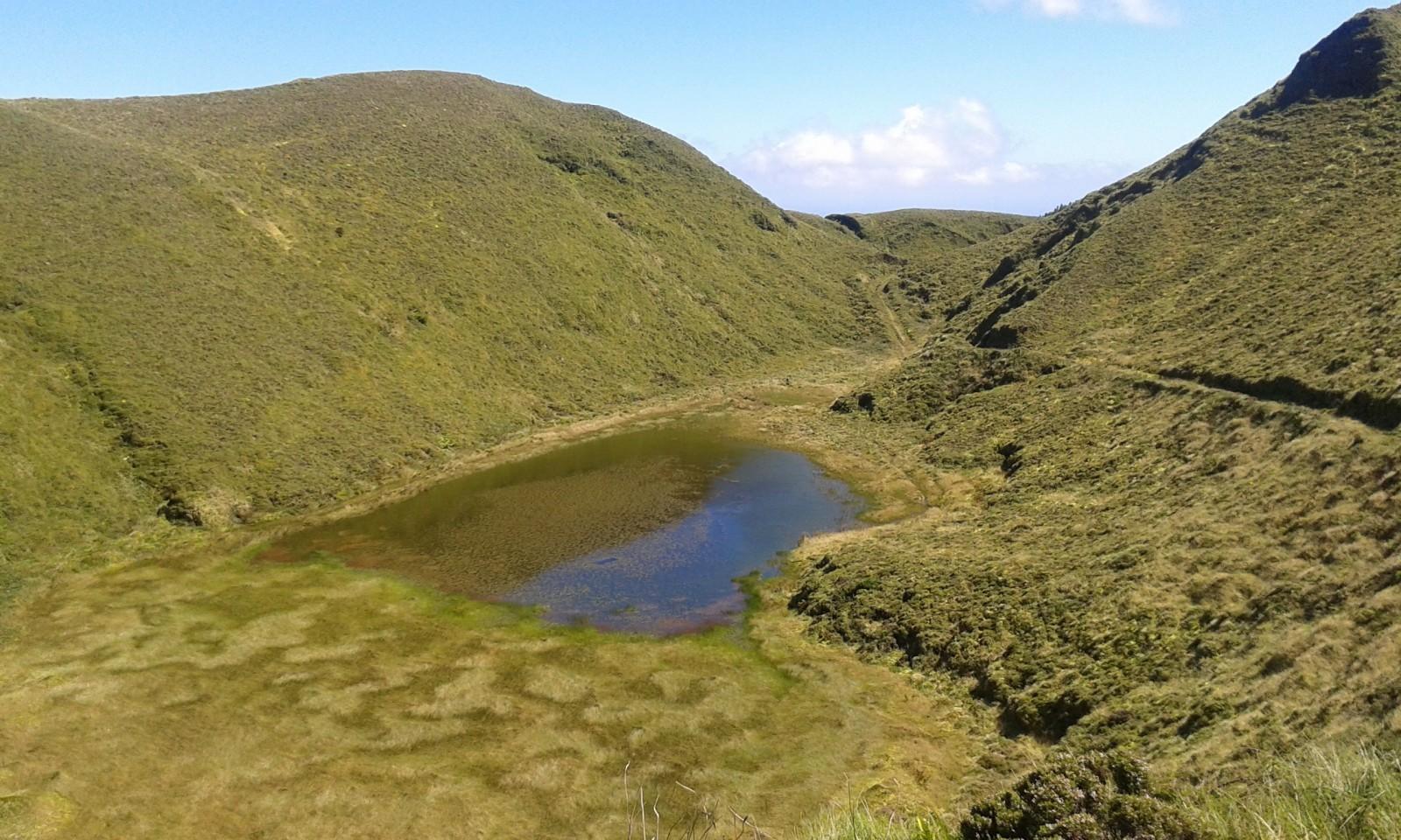 Serra Devassa hiking trails in Sao Miguel
