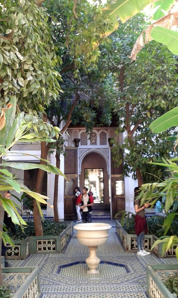 palaces in Marrakech Bahia Palace Marrakech