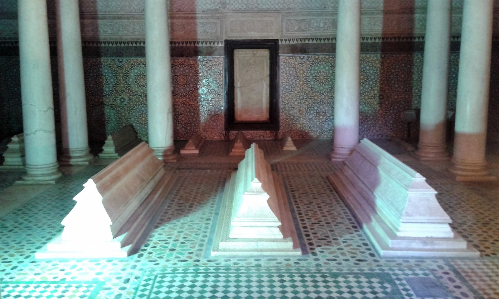 palaces in Marrakech Saadian tombs Marrakech