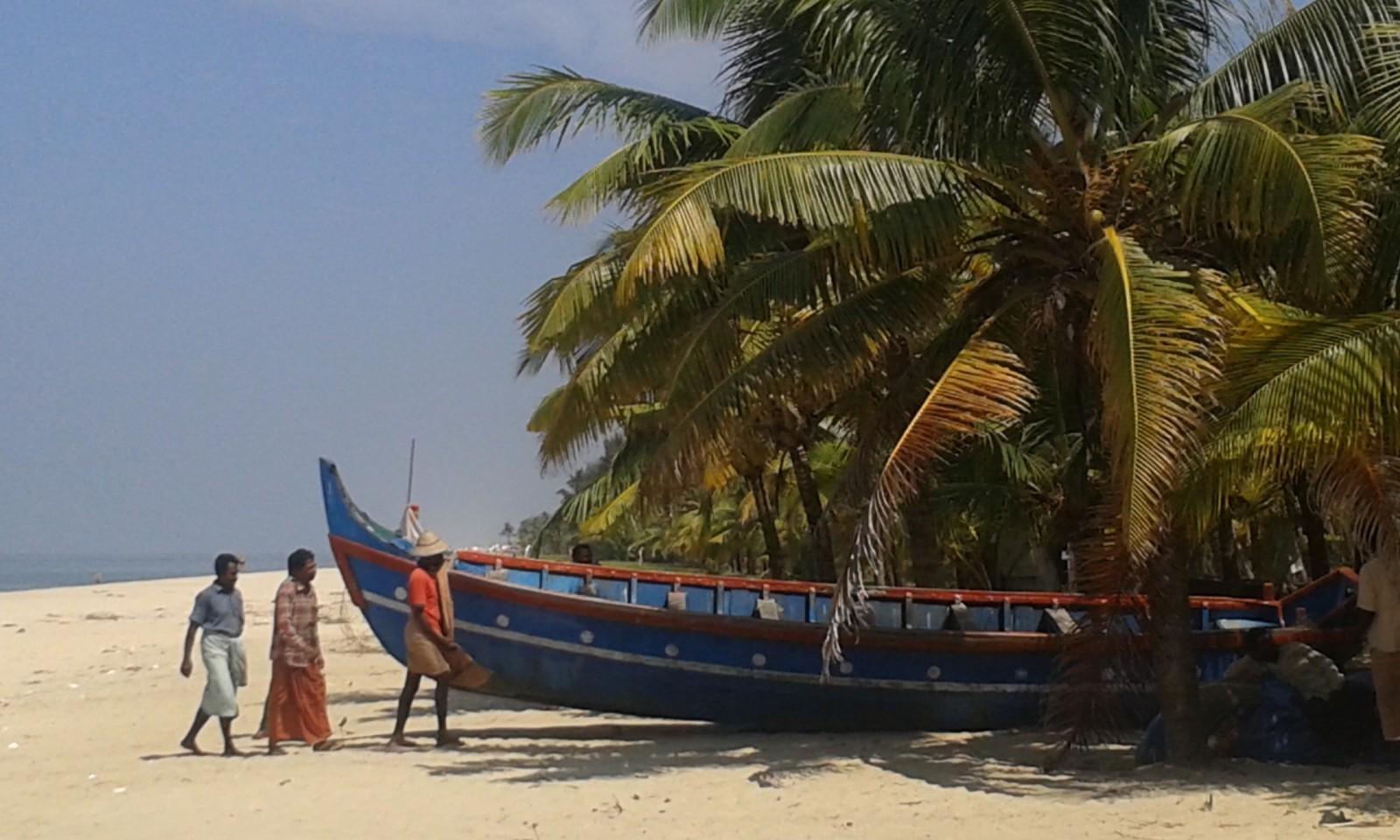 Kerala is different Marari beach