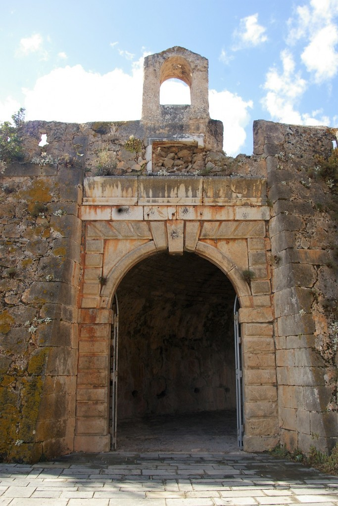 sailing the Ionian islands: Venetian castles