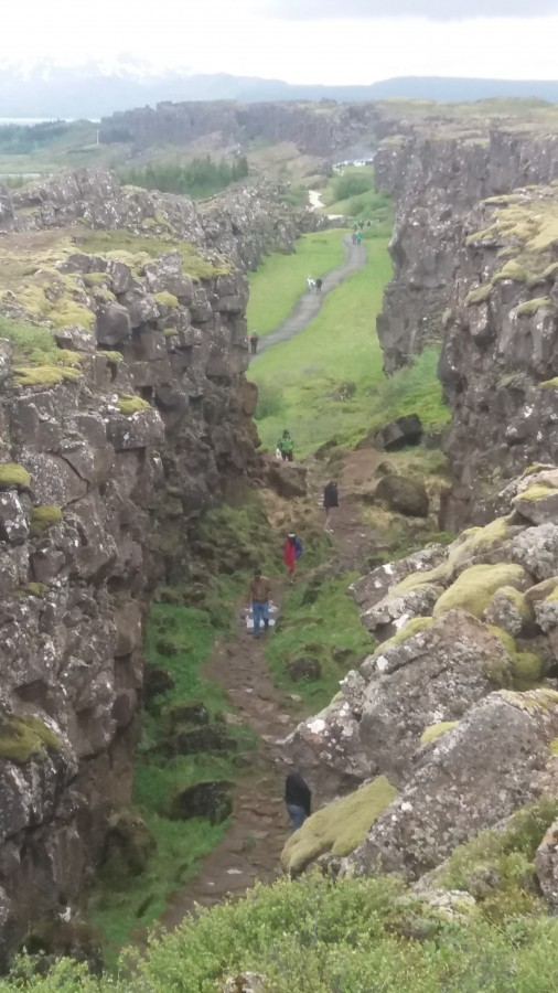 two week itinerary for Iceland Thingvellir