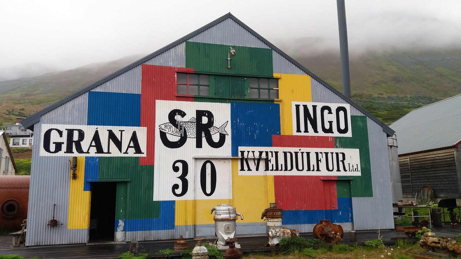 small museums in Iceland Herring Era museum
