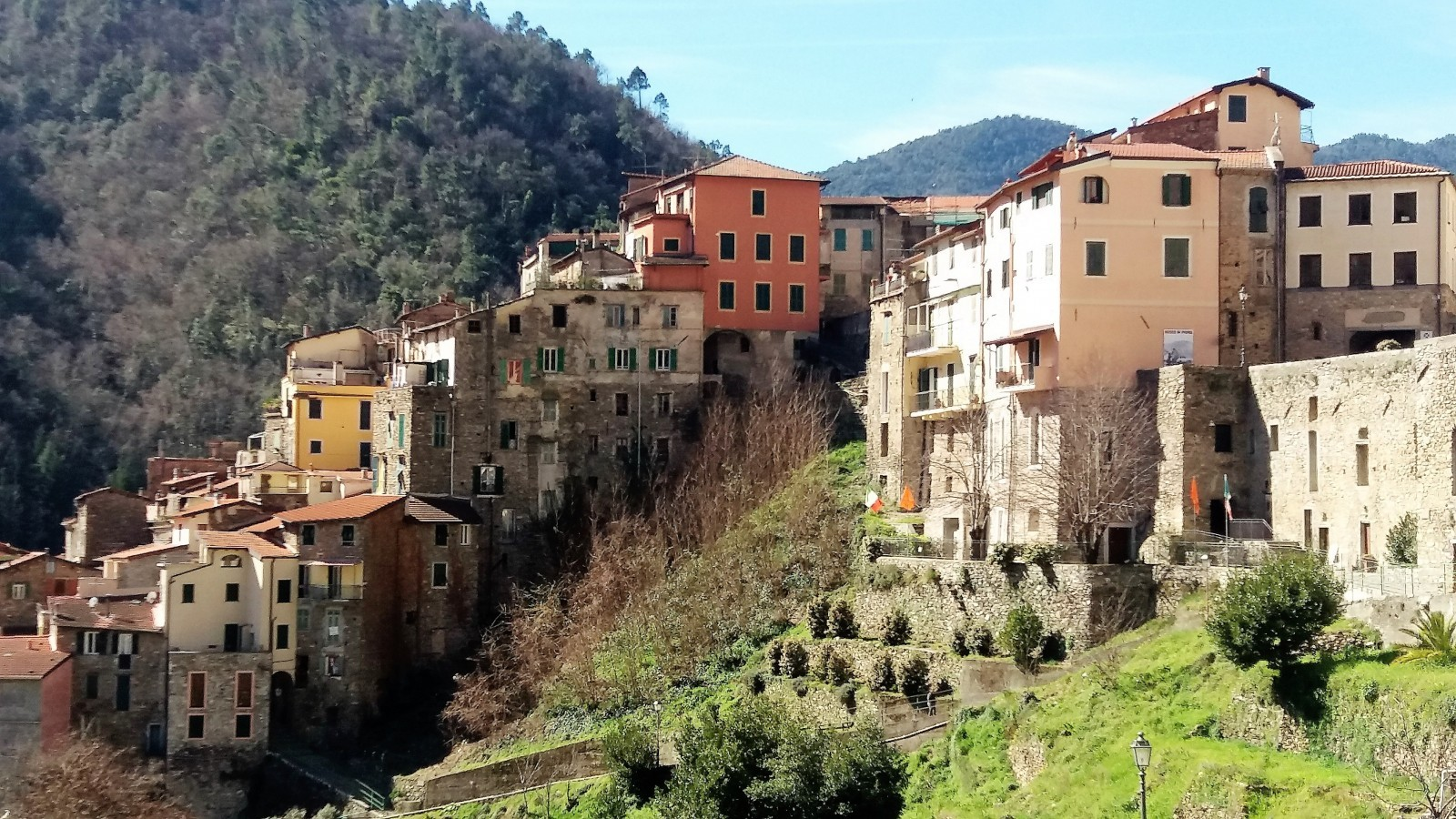 Pigna villages in Liguria