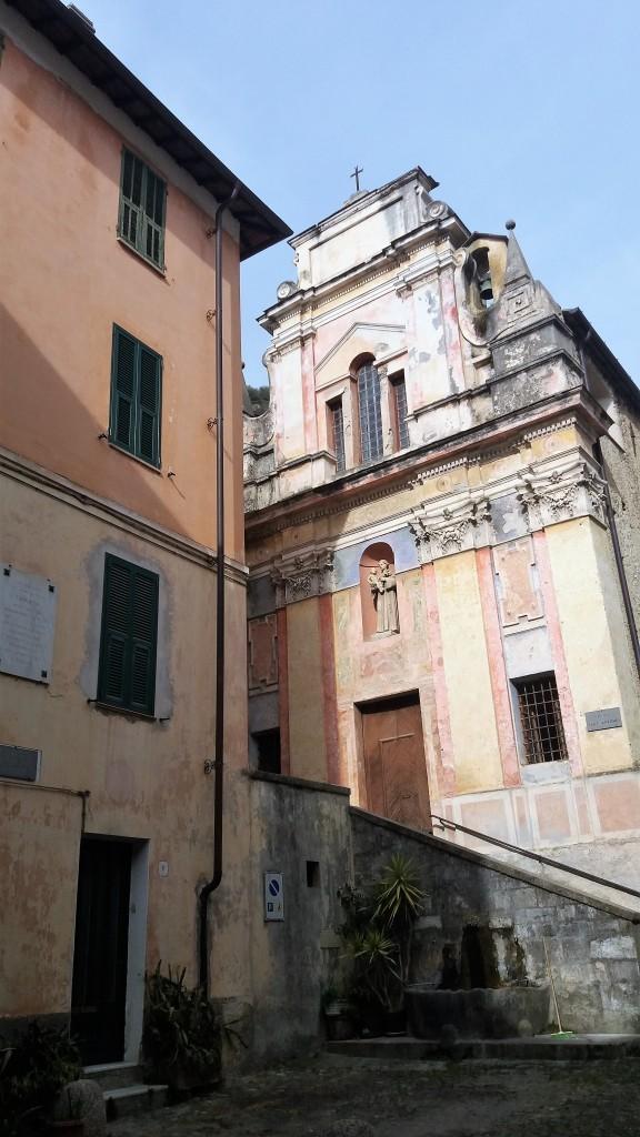 Pigna villages in Liguria