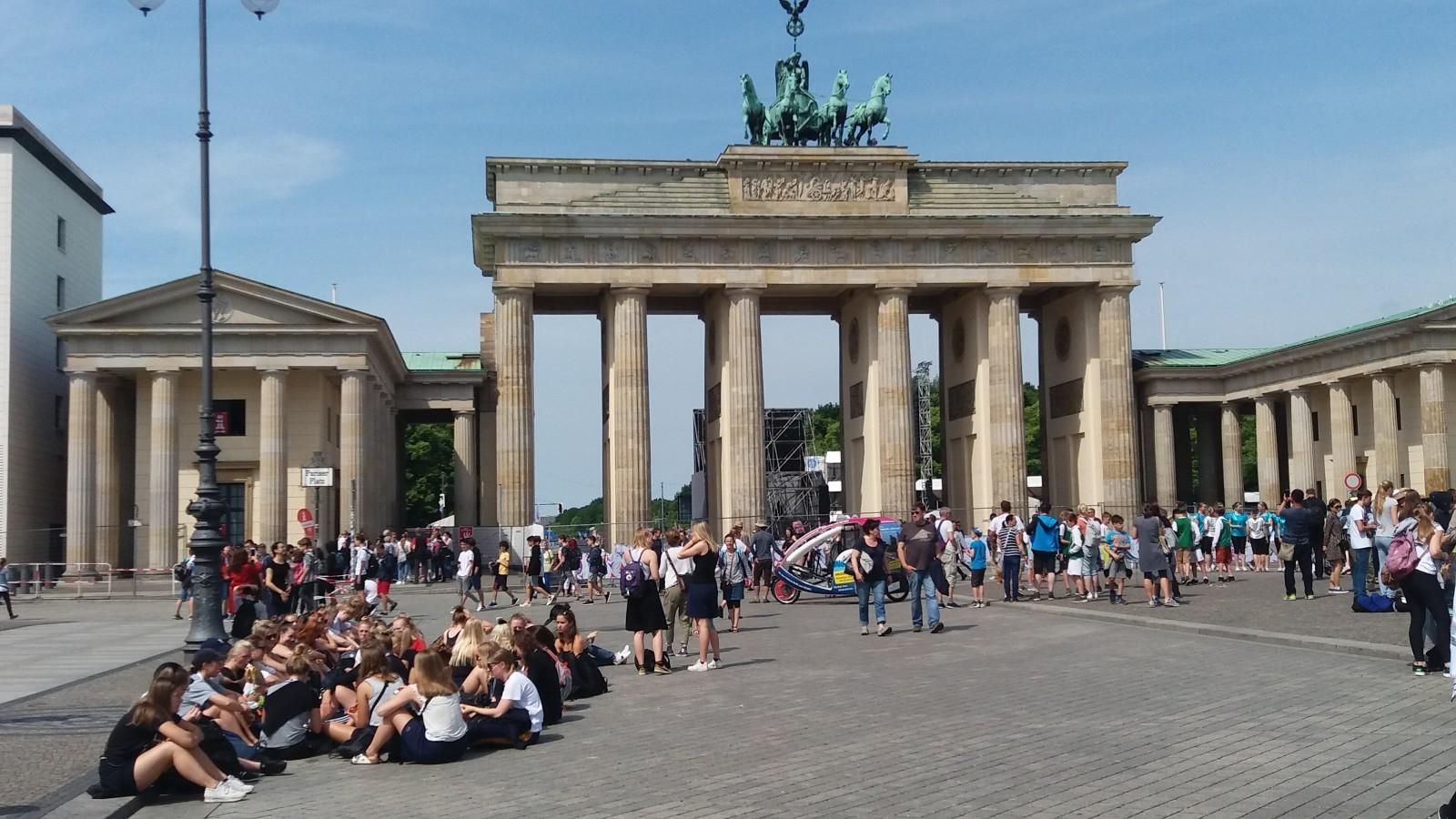 Cold War tour of Berlin Brandenburg Gate