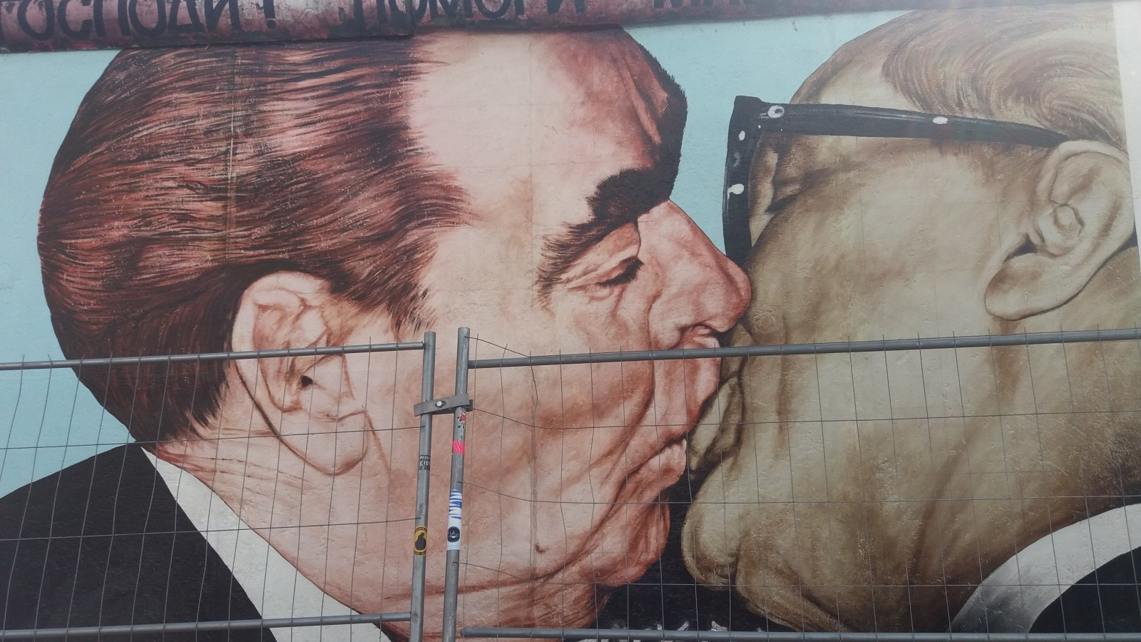 Cold War tour of Berlin East Side Gallery