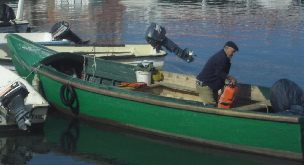 fishing harbour Faro