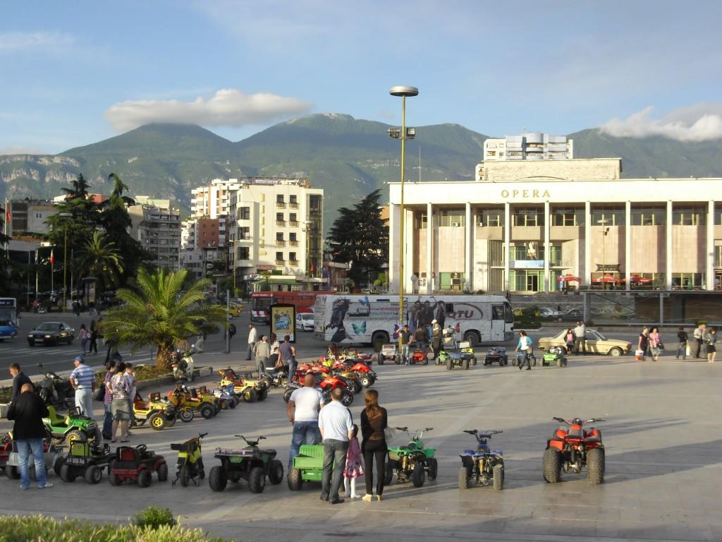 Skanderbeg Square Tirana