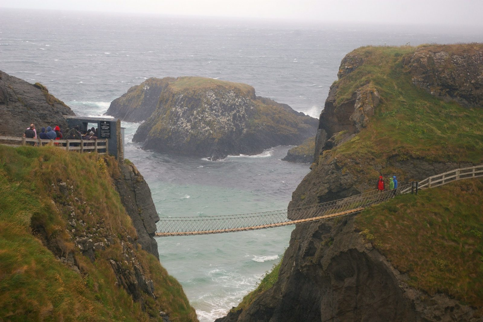 Carrick-a-Rede Ropebridge Causeway Coastal Route