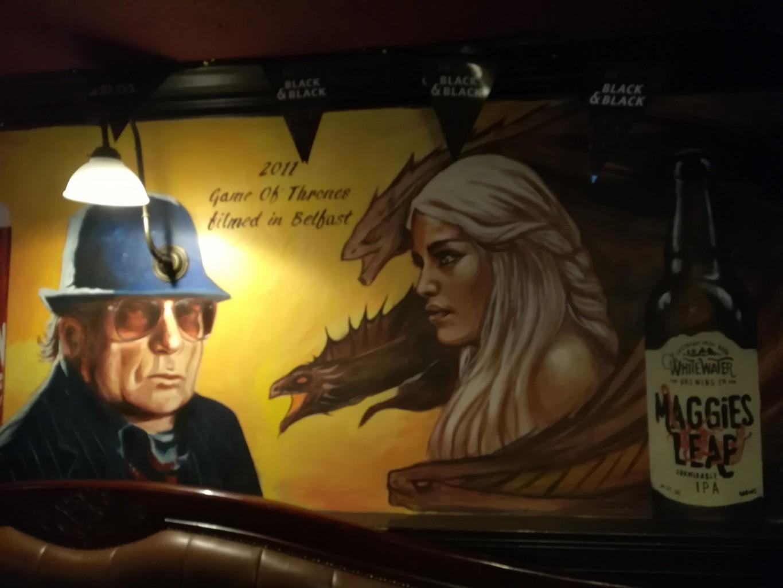Mc Hugh's pub crawl in Belfast