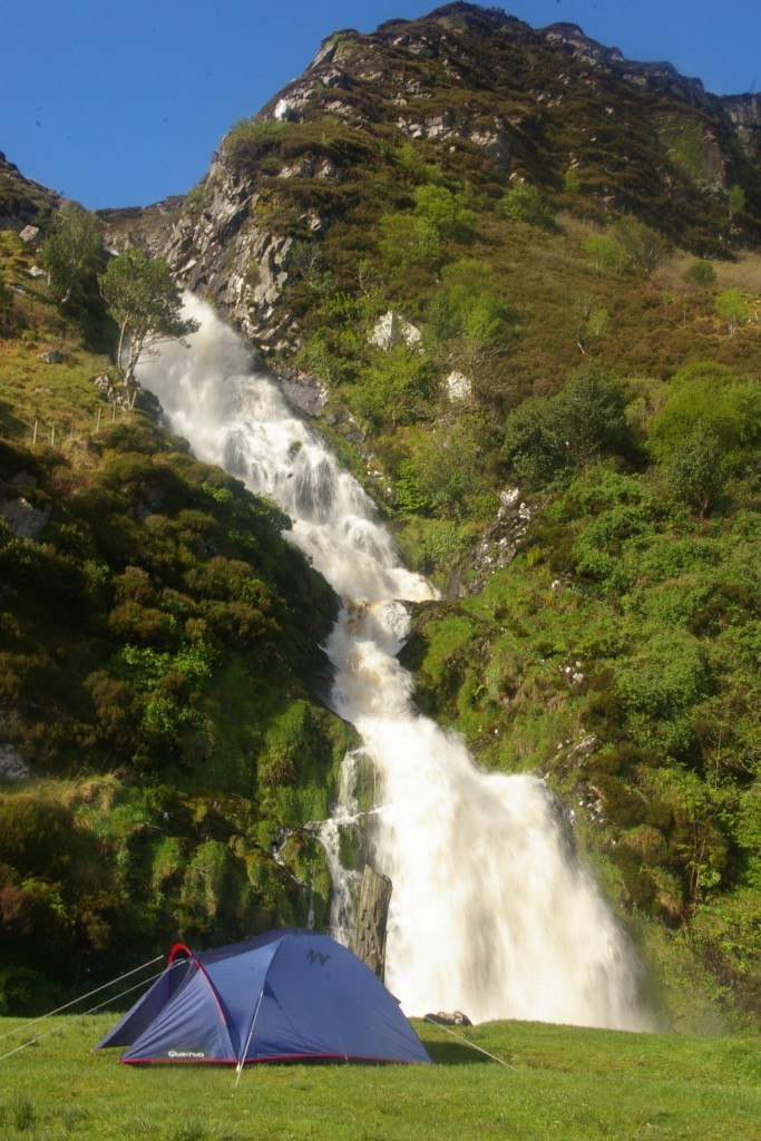 places to visit in Donegal Assarancagh waterfall