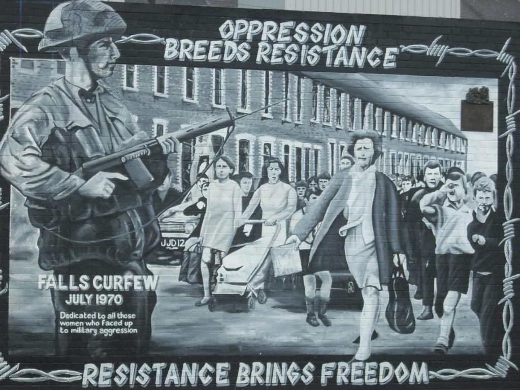 Belfast political murals