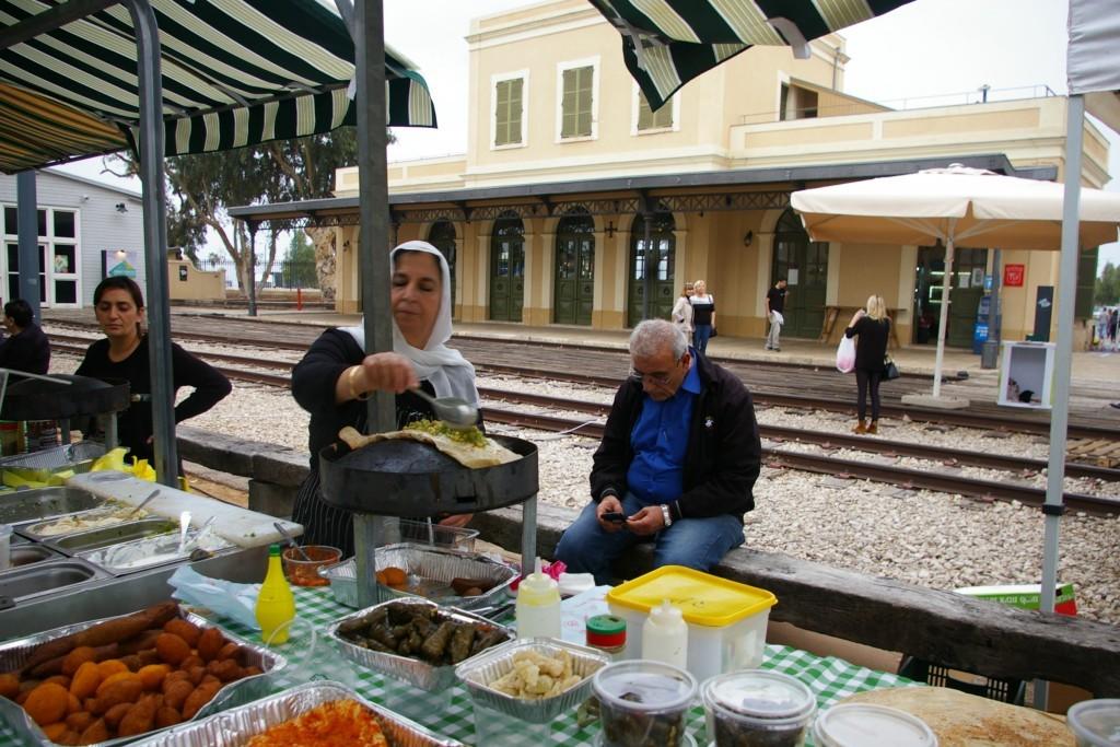 Hatchana railway station Tel Aviv