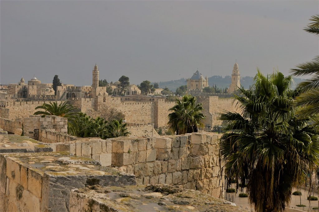 view from ramparts Jerusalem
