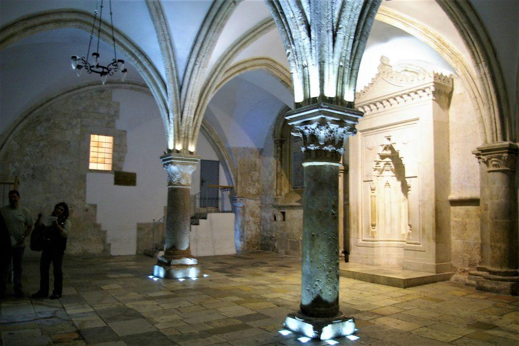 Last Supper Room Tomb of David Jerusalem