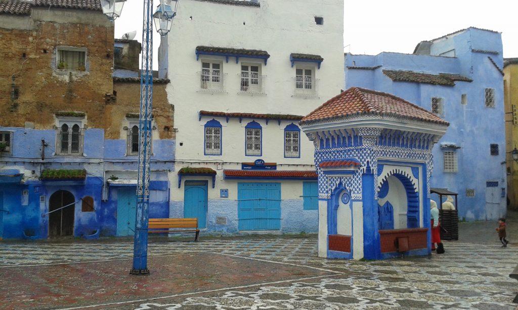 plaza el makhzen chefchaouen