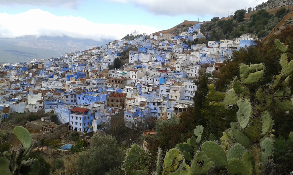 view over Chefchaouen