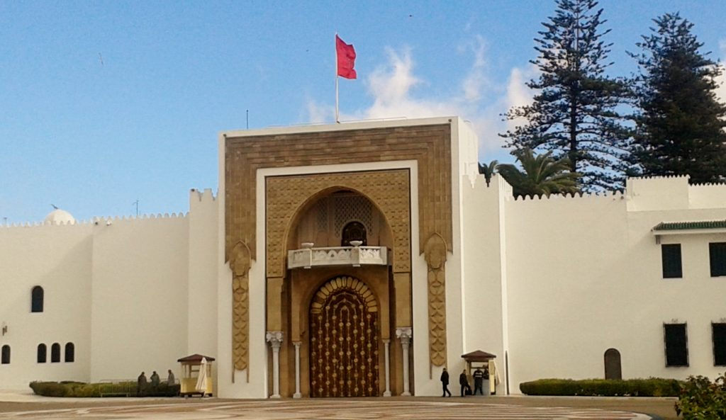 Royal palace Tetouan