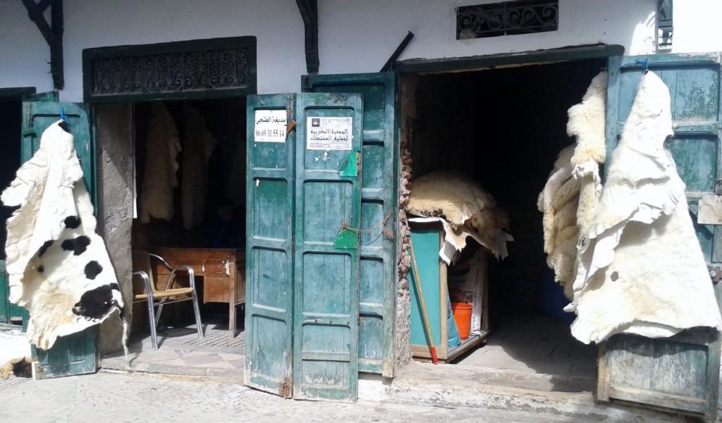 tanneries Tetouan