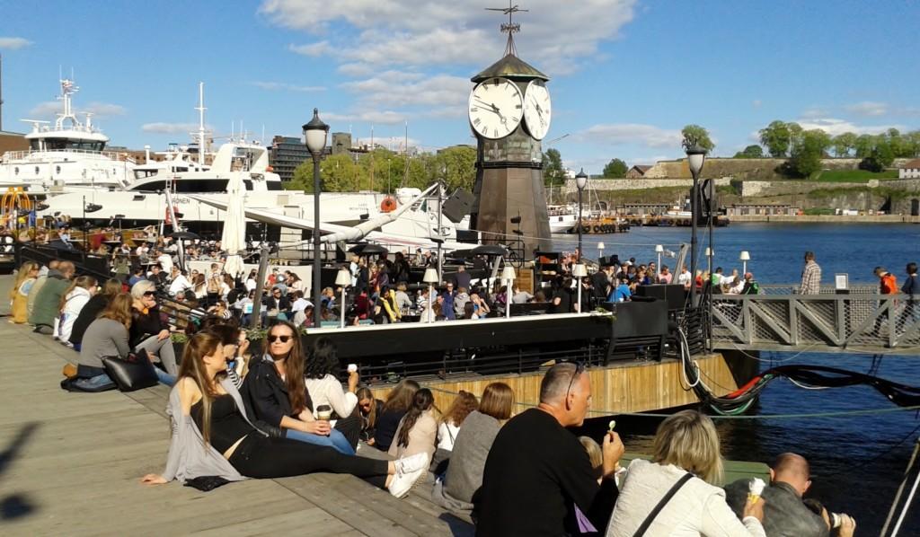 weekend in Oslo Aker Brygge