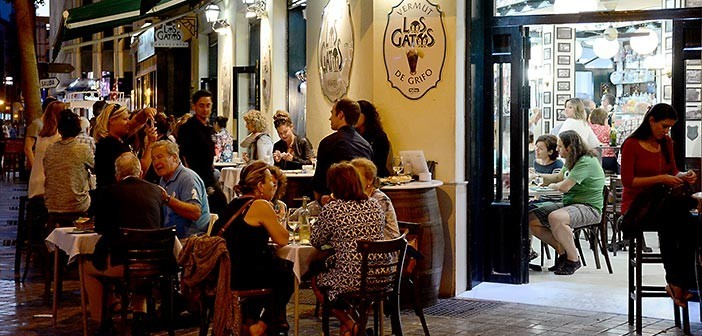 best tapas bars in Malaga los gatos