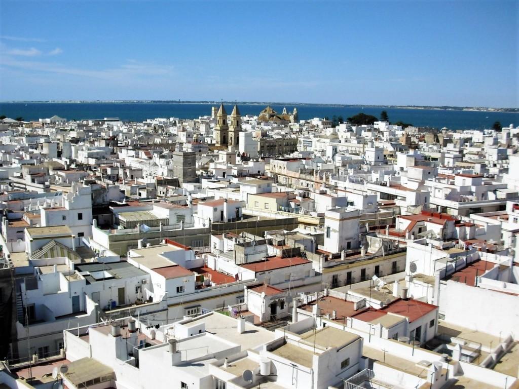 Torre Tavira view
