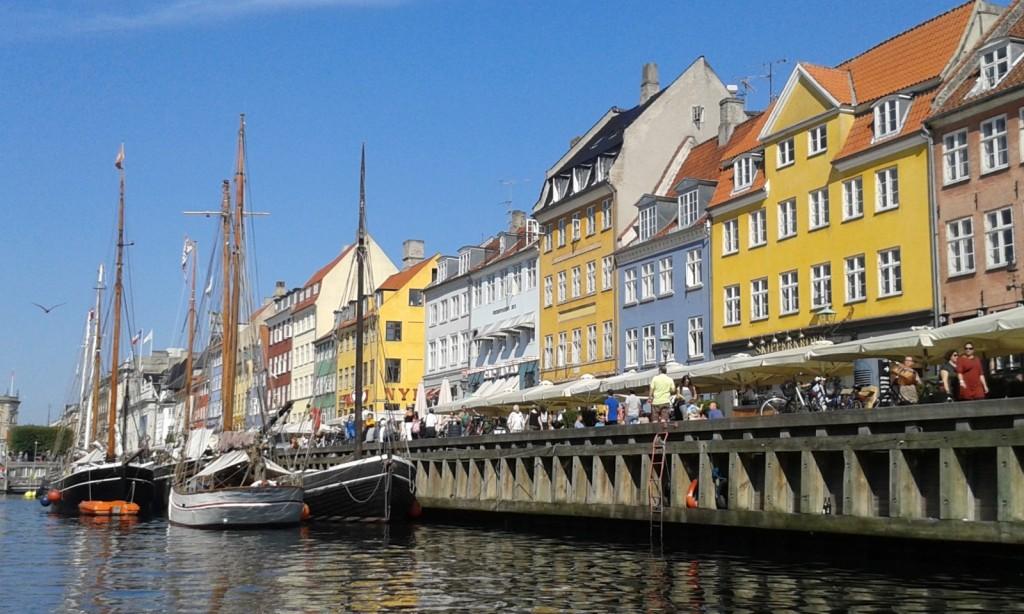 canal boat tour Copenhagen Nyhavn