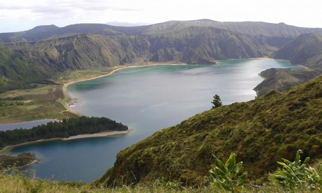 Lagoa do Fogo lake Azores