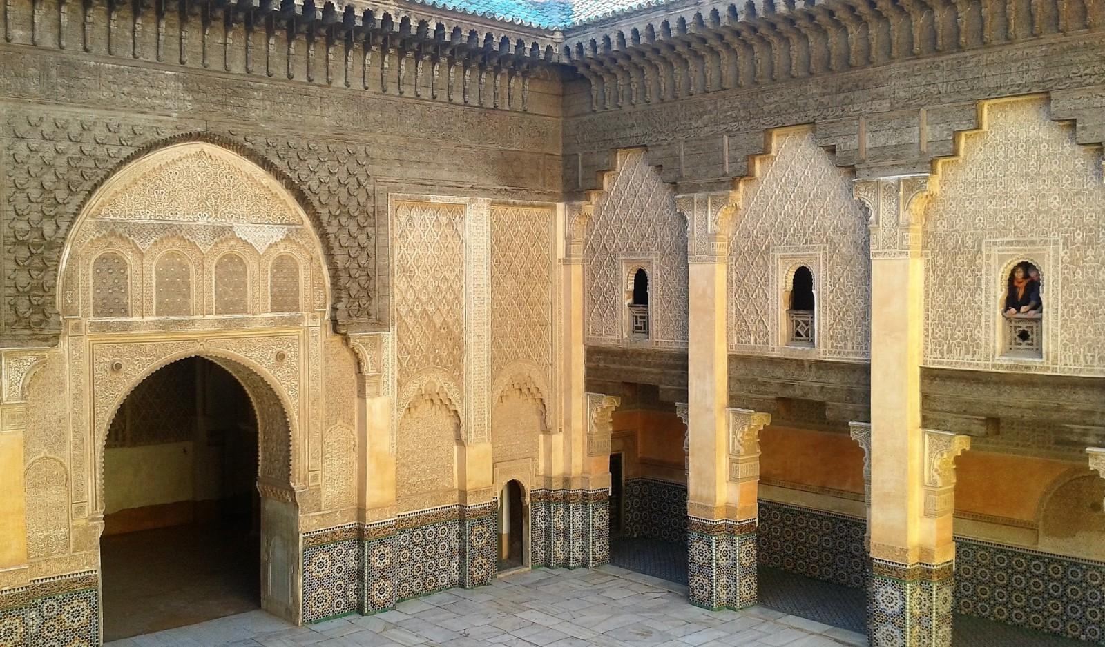palaces in Marrakech: Medersa Ali Ben Youssef Marrakech