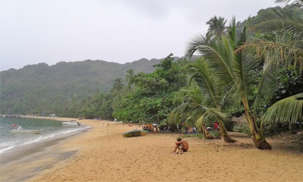 Praia de Manguas Ilha Grande