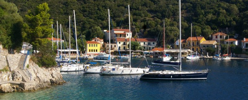 sailing Ionian islands