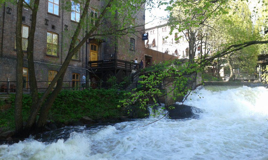 Akerselva river Oslo