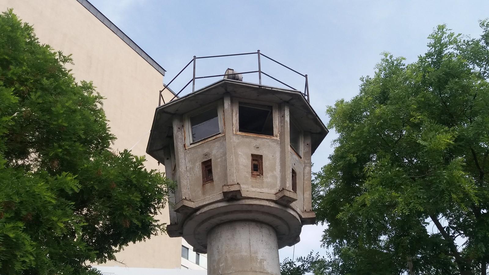 Cold War tour of Berlin watchtower