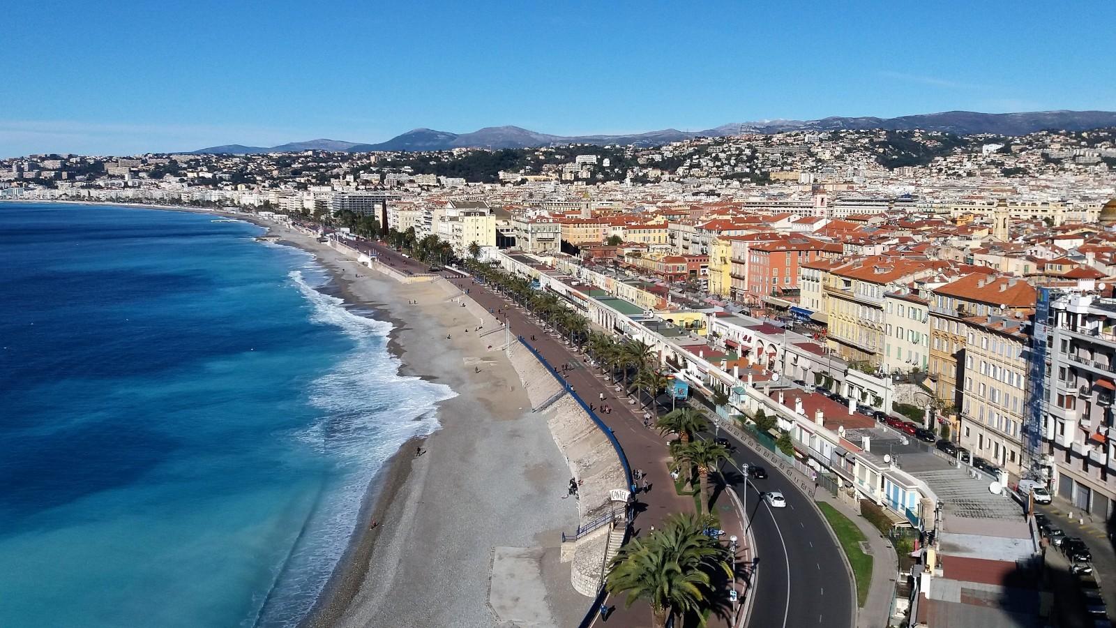 vue de la Colline du Chateau Nice