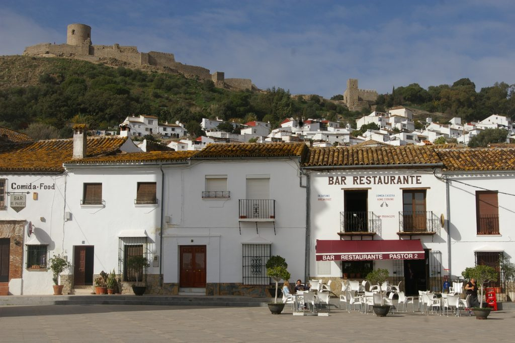 main square Jimena de la Frontera