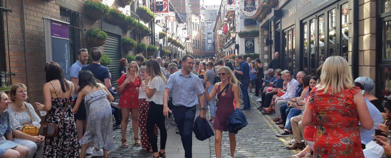 Duke of York Belfast pub crawl