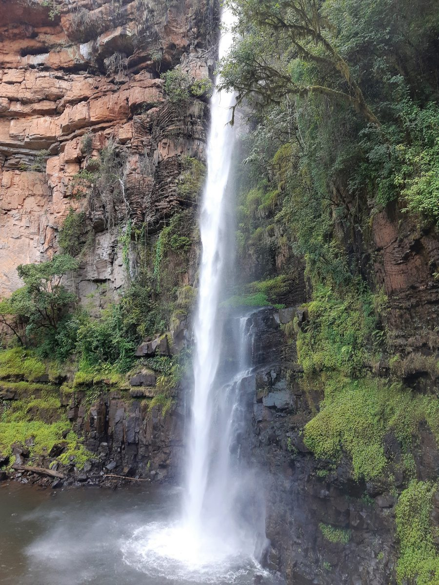 lone creek falls panorama route south africa