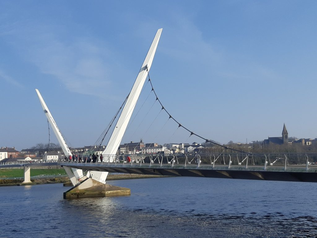 peace bridge derry
