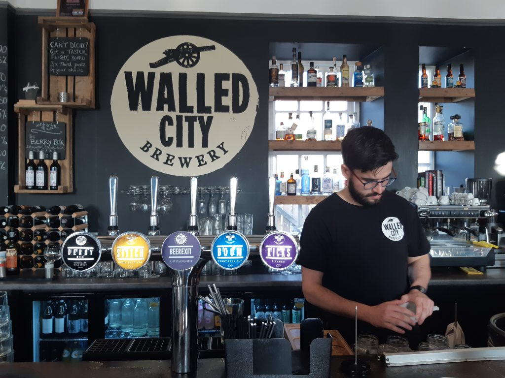 walled city brewery derry
