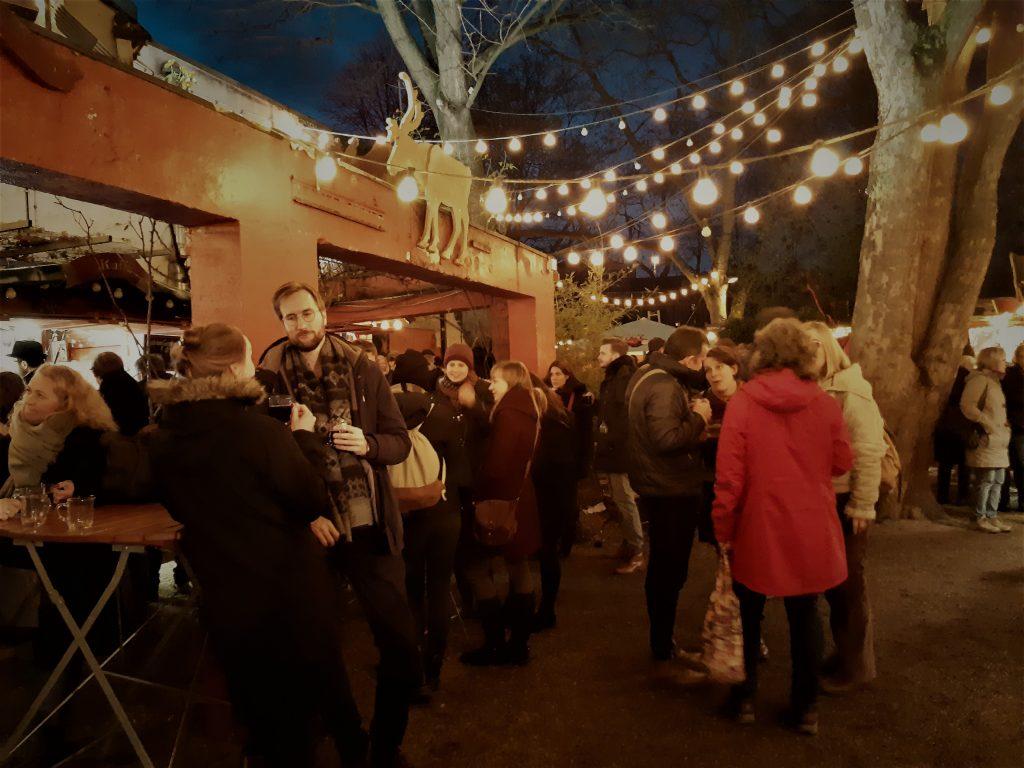 Stadtgarten Christmas market Cologne