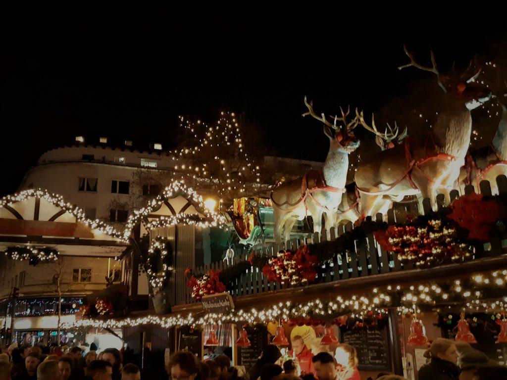 Nikolausdorf Christmas market Cologne